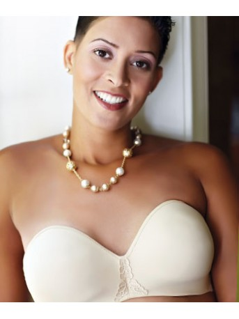 ABC SEAMLESS STRAPLESS MOULDED BRA 112 Bras